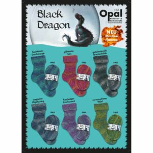 Opal Black Dragon